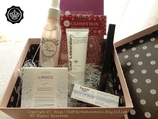 GLOSSY BOX12月