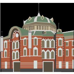 東京都 重要文化財 東京駅 イラスト アイコン マップラボ 地図アイコンを無料ダウンロード Maplab