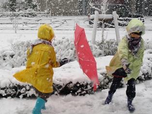 近所の雪景色02