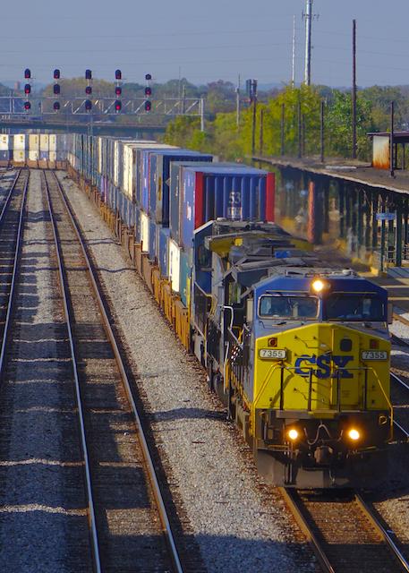 71014Birmingham Station CSX-7355-1