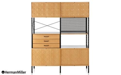 Eames Storage Unit 4段(イームズ ストレージユニット 4段)Charles & Ray Eames(チャールズ&レイ・イームズ)Herman Miller(ハーマンミラー)