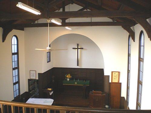 市川教会・内部