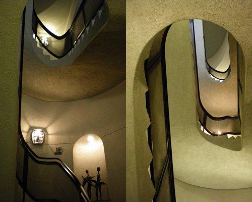 松濤美術館・階段