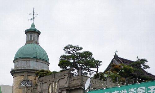 秋田商会・屋上