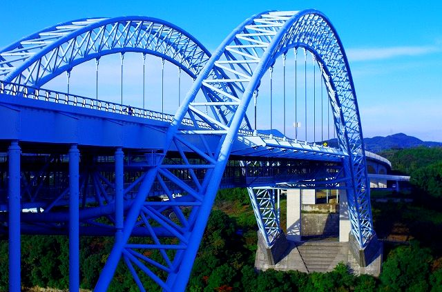 新西海橋と旧西海橋