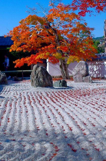 光明禅寺の枯山水