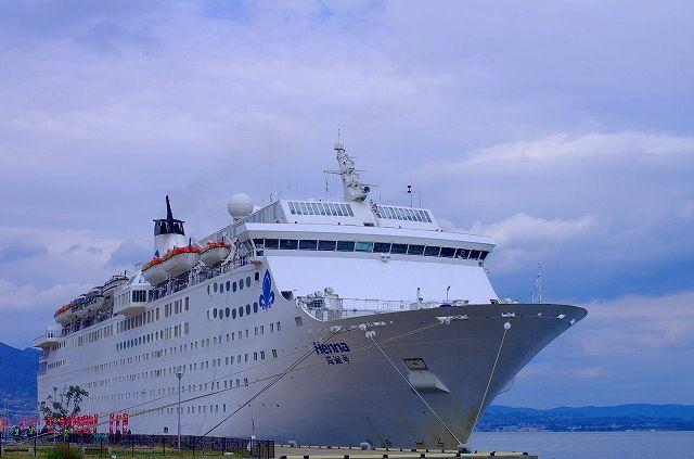 クルーズ客船 Henna海娜号 別府へ寄港