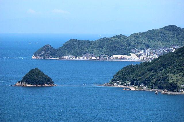 県南の青い海(四浦展望台)
