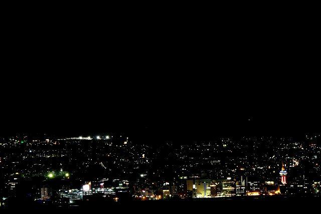12万$ 別府市の夜景