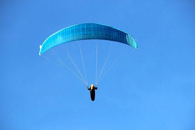 鳥のように大空を飛びたい