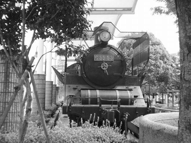C55型蒸気機関車