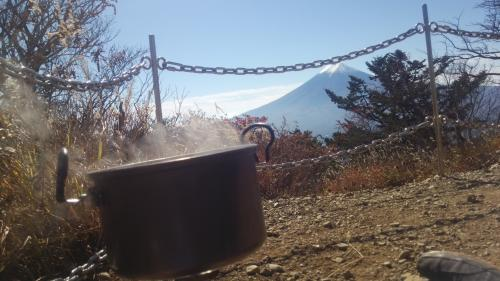 鍋と富士山(2)