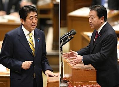 安倍総裁の党首討論-1