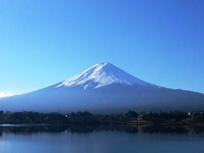 12月の富士山