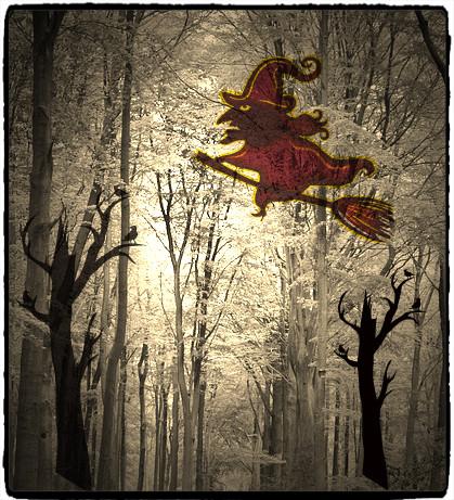 ハロウインの魔女
