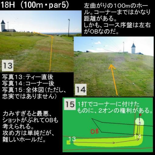遠別パークゴルフ とんがり館コース (8)