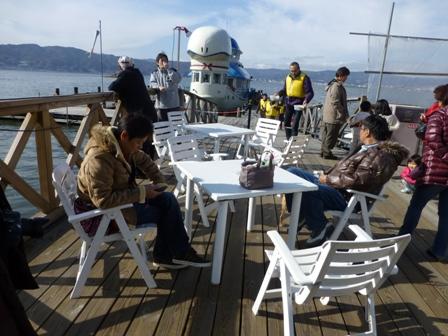 諏訪湖観光汽船23