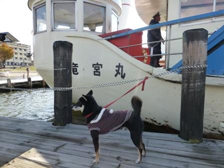 諏訪湖観光汽船30
