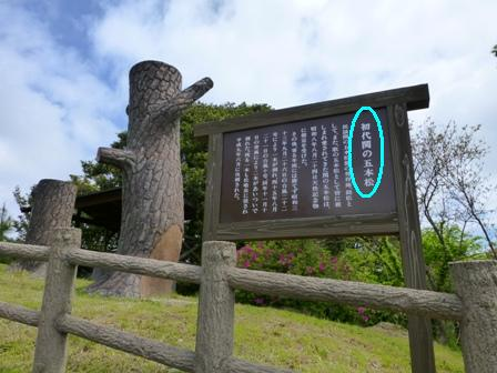 関の五本松公園13