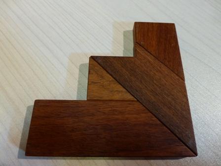 木のパズル 『The-T』9