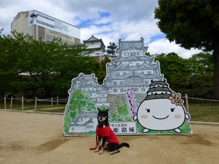 姫路城大天守保存修理期間中9