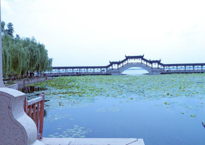錦渓の三亭橋?