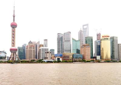 上海のTV塔&森ビル