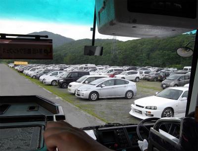 500台規模の駐車場