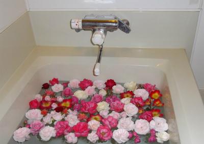 バラのお風呂