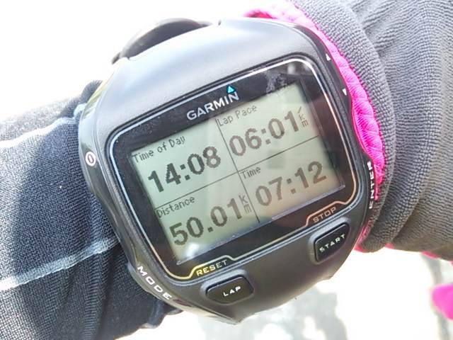 【速報】灼熱の50km走