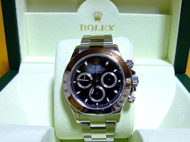 check out f50c5 28ba0 ついに ROLEX 116520 DAYTONA SS BLACK 正規店にて購入!