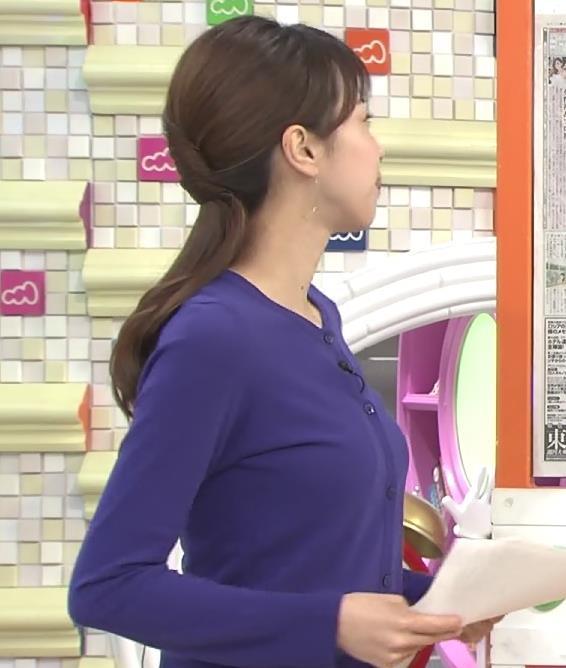 加藤綾子 おっぱい突き出しキャプ画像(エロ・アイコラ画像)