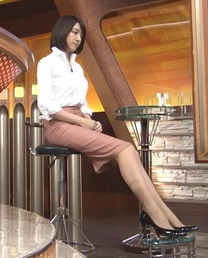 大島由香里 ミニスカ美脚キャプ画像(エロ・アイコラ画像)