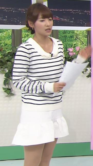 吉田明世 ミニスカ太ももキャプ画像(エロ・アイコラ画像)