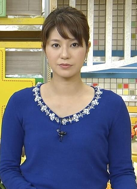 遠藤玲子 青いセーター (20140209)キャプ画像(エロ・アイコラ画像)