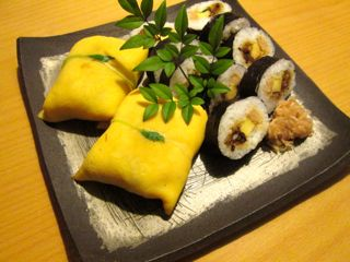 八竹の茶巾寿司