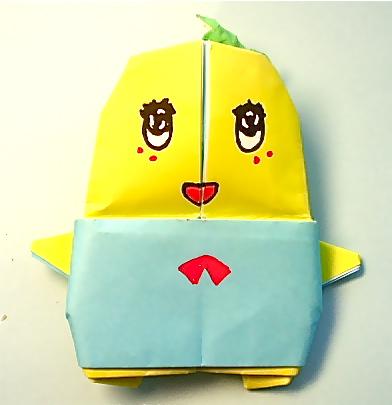 折り紙の キャラクターの折り紙の折り方 : matome.naver.jp