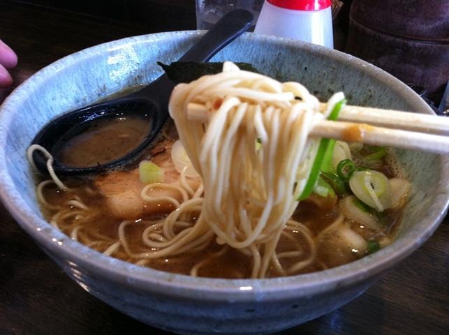 濃厚和風細麺